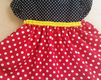 Minnie mouse / mickey mouse dress