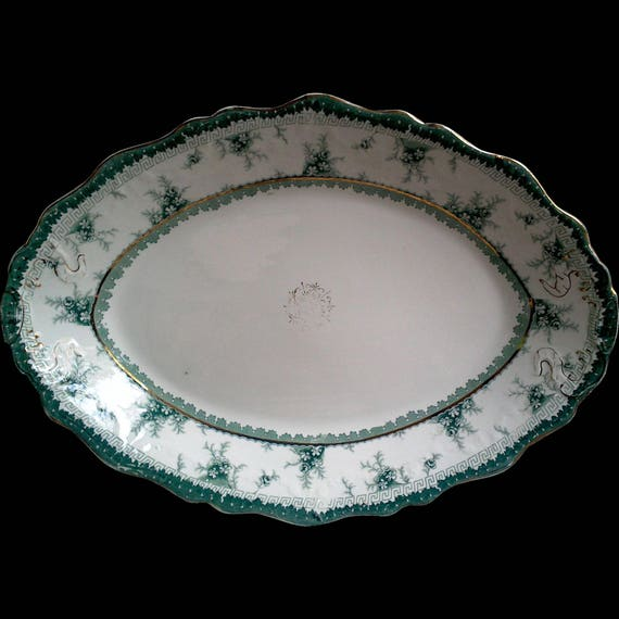 Antique platter, house warming gift wedding gift anniversary gift bridal shower gift christmas gift english platter john maddock holiday