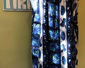 Vintage Hawaiian Muumuu, Size Large