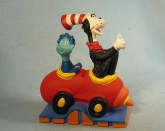 Vintage-1997-Dr. Suess Bank-With Original Stopper