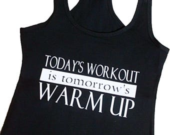 Work out clothes, Racer back tank top, custom Top, Gym Top, ladies tank top, Gym apparel, ladies workout apparel, workout clothes for woman