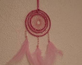 Pretty in pink dreamcatcher