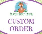 RESERVED Custom Birthday Crown Reserved