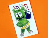 Gummibär (The Gummy Bear) Music Notes Temporary Tattoo ~ Set of 2 ~ Wearable Art