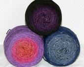 Custom for Lauren: Mad Panda, Mad Tweed and Mad Yak gradients