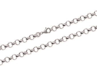 Chain Silver 925/000 bracelet 18.5 cm to add a pendant