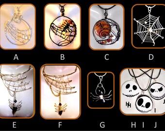Spider web jewelry, spider jewelry, ,spider  jewelry,Goth,,Gothic wedding,Edward Gorey,gothic wedding cake topper,