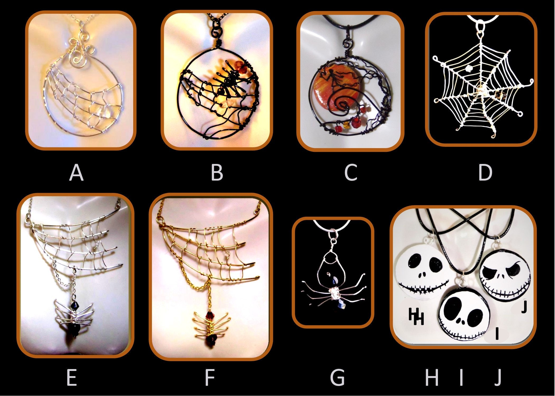 Halloween Wedding spider wedding jewelry Goth Wedding Gothic