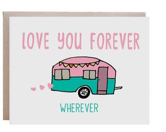 Love Card, Camper, I Love You