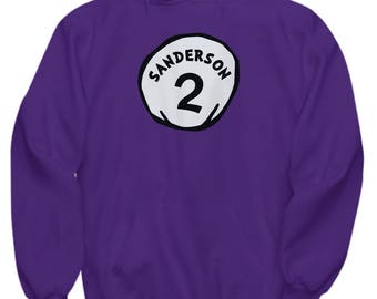 Seuss Halloween Hocus Pocus Sanderson 2 Funny Gift Hoodie Thing One Two Silly