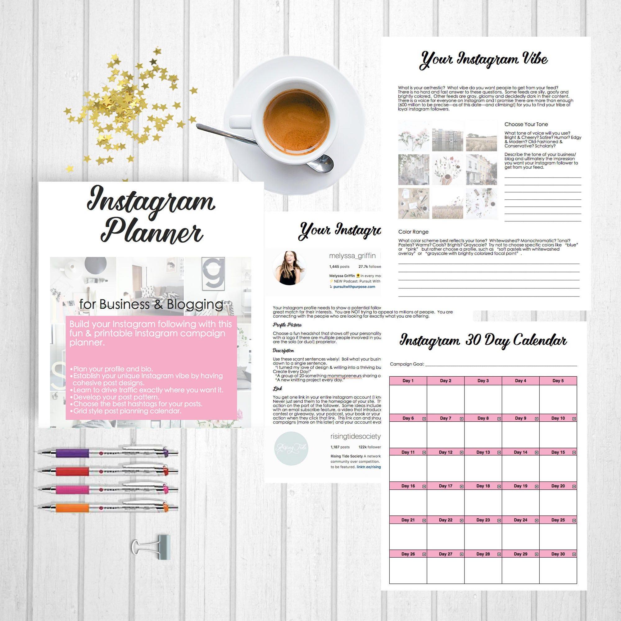 instagram planner