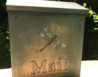 Dragonfly wall mounting Mailbox