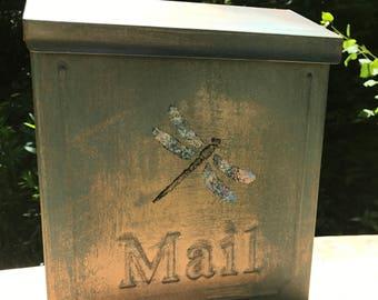Dragonfly wall mounting Mailbox