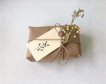 Gift tags - floral