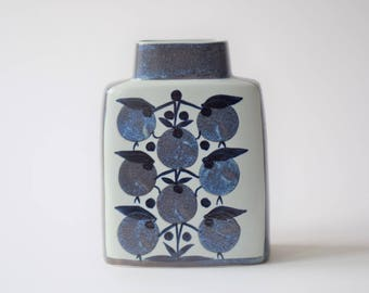 Royal Copenhagen - Pillow Vase - 441/3121 - Tenera - Grethe Helland Hansen - Danish mid century ceramics