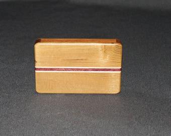Wooden Card Holder / Wallet