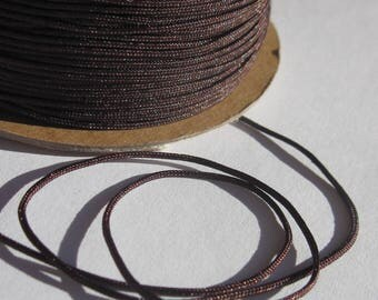 1 meter (81 colored cotton thread cord