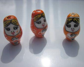 1 Pearl doll Russian porcelain 2,2cm (6).