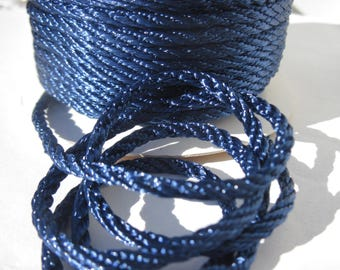 1 meter of cotton yarn braided 3 mm thick (168)