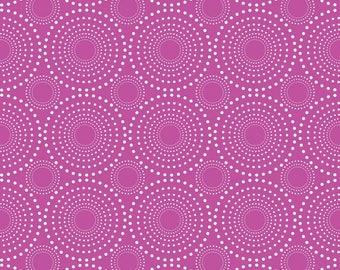 Knit - Vivid Fireworks Purple Print Jersey Cotton/ Spandex Knit (K4451)by Riley Blake Designs