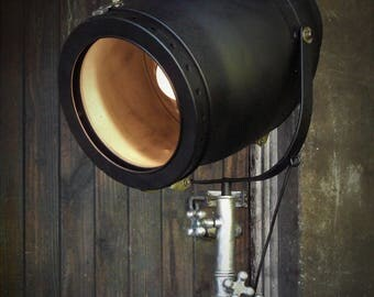Genuine Strand Stage Light Mounted on Barton Studio Stand