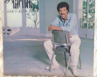 "Lionel Richie ""Can't Slow Down"" vinyl record"