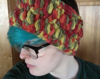 Crocheted Headband/Ear Warmer made in Maine