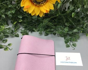 A602 - Rosey Posey  - A6 JournalJot Traveler's Notebook/Planner Cover/Journal