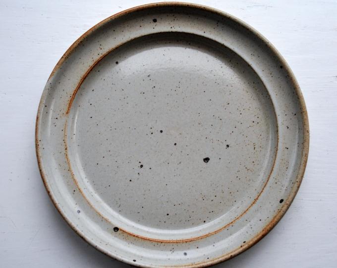 "Dansk Nielstone Spice Plate 8 1/2"" Niels Refsgaard Japan Rare"
