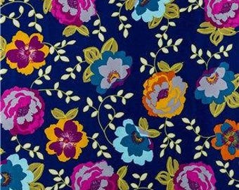 Floral Corduroy Fabric
