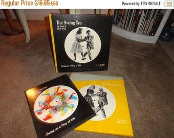 50% OFF Record and book Set Swing era The music of 1941-1942 Swing As a way of life