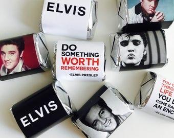Elvis Presley Hershey's Nuggets Wrappers  Printable