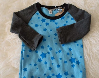 6-9 9-12 2-3yrs star and guitar shirt and pant by little lapsi. ready to ship