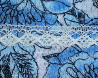 """New 1/2"""" White Lace Trim Edging 10 Yards"""