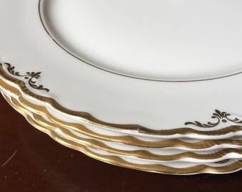 Pope Gosser Dinner Plates Set of 4