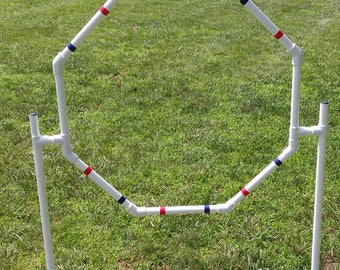 Dog Agility Equipment Hoop Jump/Octagon Tire Jump |FURNITURE GRADE and FREE Shipping!