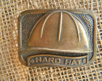 Hard Hat Belt Buckle
