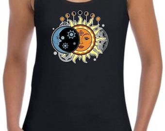 Solar Eclipse Event 8-21-17 Junior's Tank Top - 64200L - WSC-502
