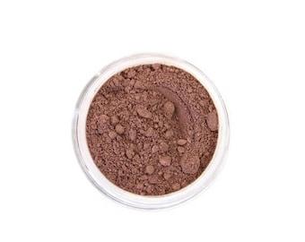 SALE Deep Maple - Natural Mineral Foundation - Deep Cool Tone Foundation - Vegan Cosmetics