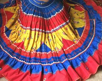 Gypsy rajasthani bellydance fiesta skirt