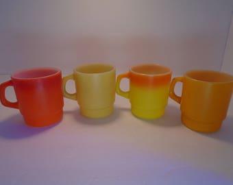 Anchor Hocking Fire King Coffee Mugs Cups
