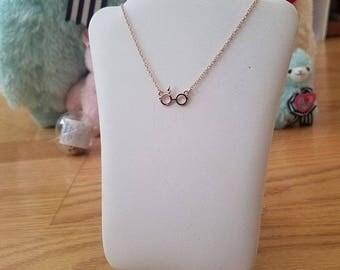 Rose Gold Harry Potter Necklace