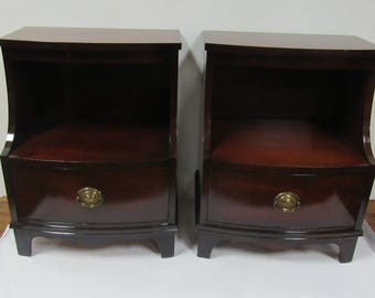Dixie Mahogany Nightstands
