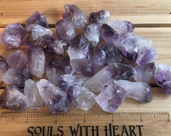 Amethyst Small Points, Natural Points,A grade, Spiritual Stone, Healing Stone, Healing Crystal, Chakra