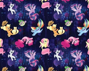 My Little Pony SeaPonies Fitted Crib/Toddler Bedding Items~Custom Made~