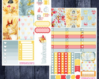 Fall Woodlands Kit for Happy Planner