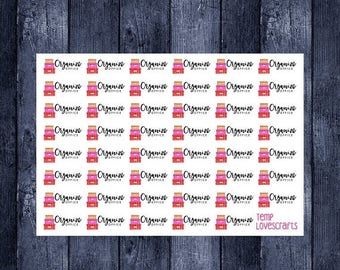 Weekend Sale Organize Office stickers for erin condren life planner, plum planner, filofax, daytimer, or any planner.
