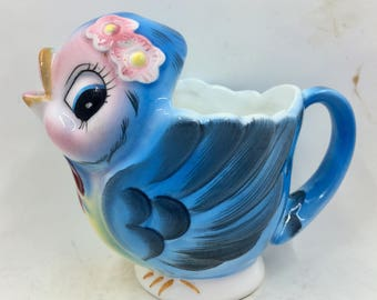 Lefton Blue Bird Creamer
