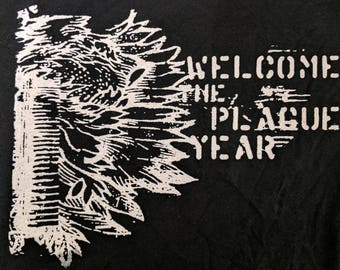 Welcome To the Plague Year hoodie (hardcore, screamo band)