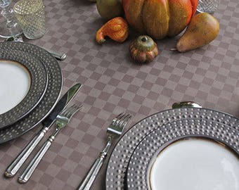 """Private Listing for N, : Custom  Rectangle 60 x 96"""" Tablecloth with Umbrella Hole  Provence Carla Brown -"""